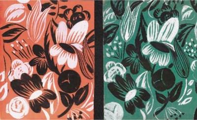 Composition de Fleurs stylisée