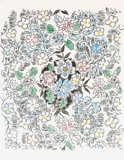 Composition Florale, Raoul Duf