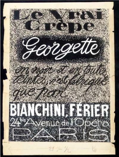 Le Crêpe Georgette, Raoul Dufy