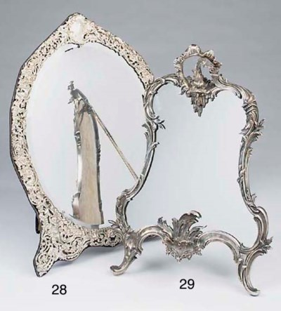 A Victorian or Edwardian silve