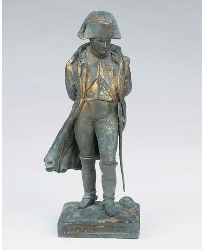 A French gilt bronze model of