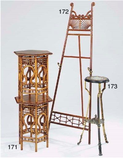 A Victorian mahogany and brass