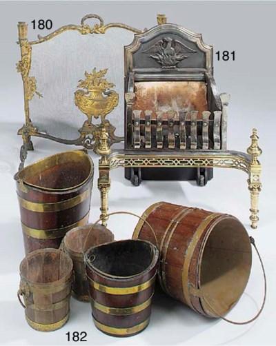 Two Dutch brass bound mahogany
