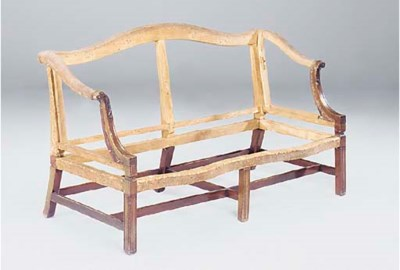 A George III mahogany and birc