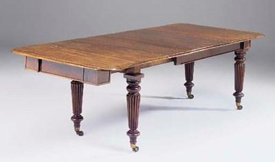 A George IV mahogany extending