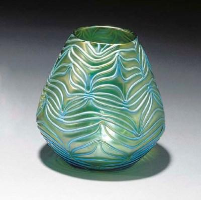 'FORMOSA' AN IRIDESCENT GLASS