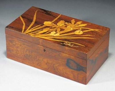 A MARQUETRY BOX
