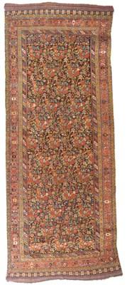 An unusual antique Qashqai kel