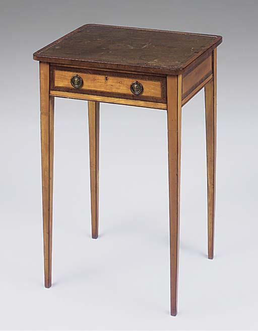 A George III satinwood crossba