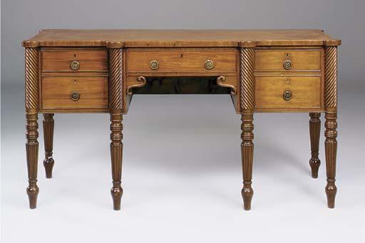 A George IV mahogany breakfron