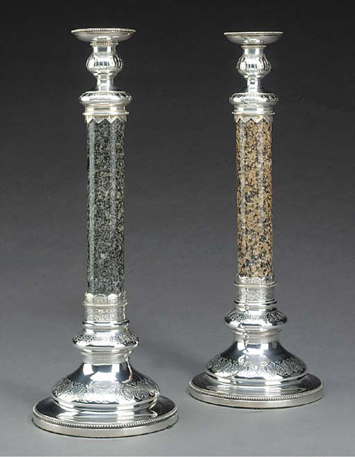 A pair of Late Victorian grani