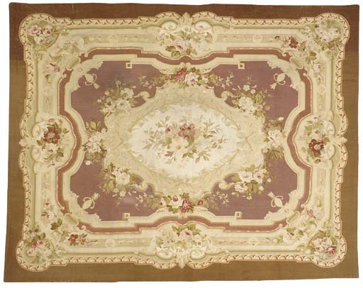 An Aubusson tapestry carpet, 1