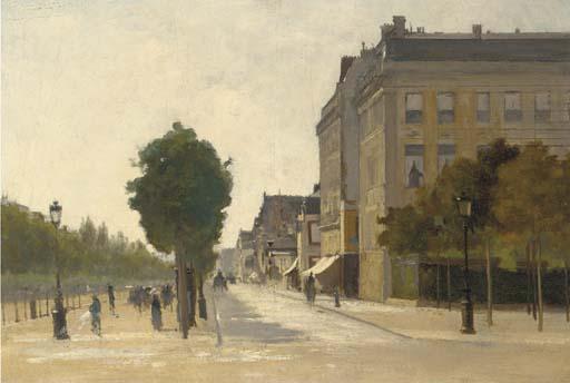 Attributed to Luigi Loir (1845