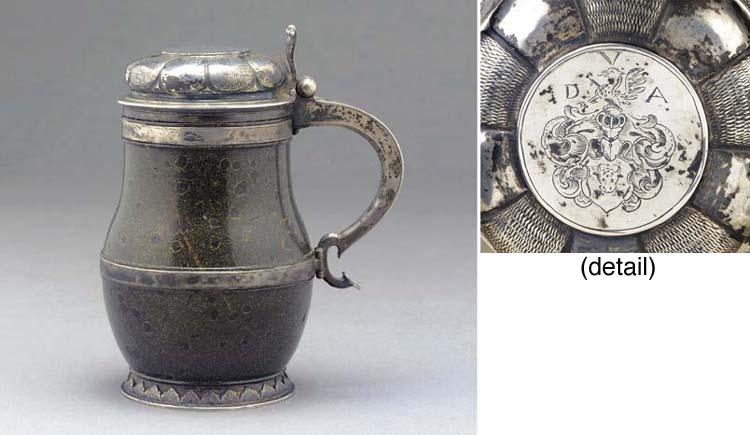 A 17th Century German Silver-M