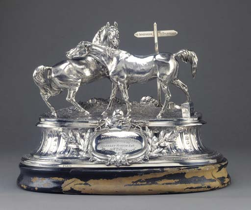 A French Silver Centrepiece