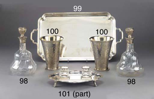 A George V Silver Coffee Tray