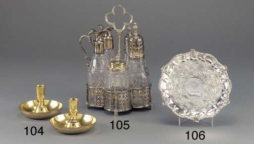 A George II Silver Waiter