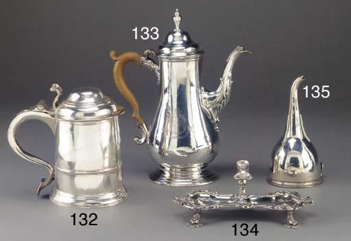 A George III Silver Wine Funne