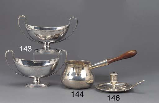 A George II Silver Brandy Sauc