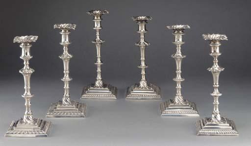 Six Assorted George III Silver
