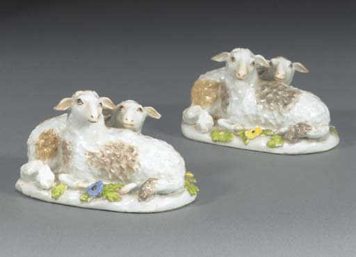 A pair of Meissen groups of sh