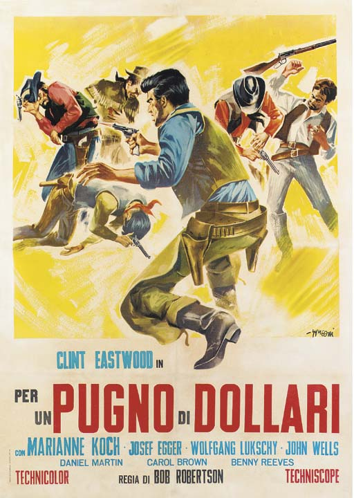 A Fistful Of Dollars/Per Un Pu