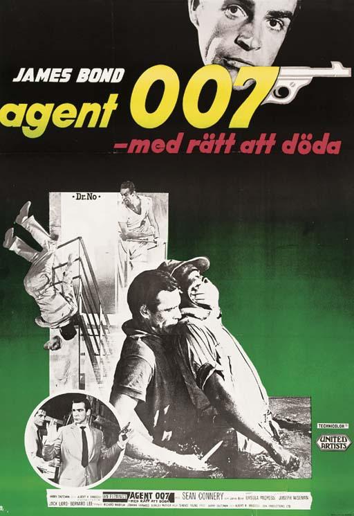 Dr. No/Agent 007 Med Rätt Att
