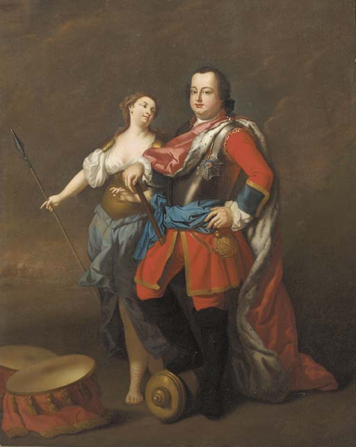 Circle of David Morier (1705-1