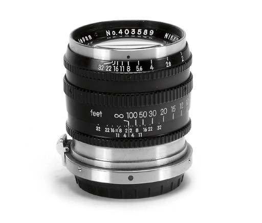 Nikkor-P·C f/2 8.5cm. no. 403589