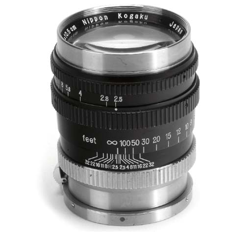 Nikkor-P·C f/2.5 10.5cm. no. 8