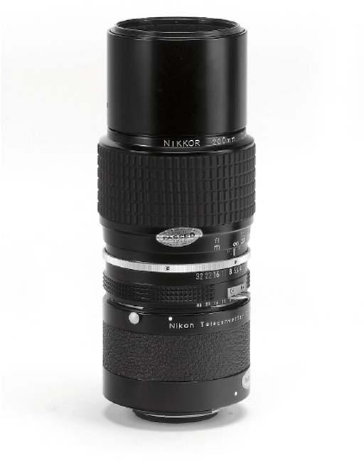 Nikkor 200mm. f/4 no. 715490