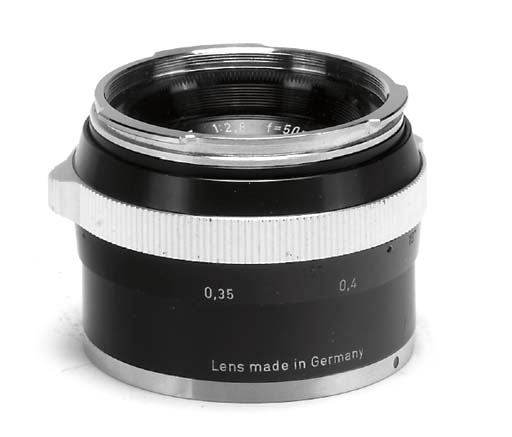Tessar f/2.8 50mm. no. 4503341