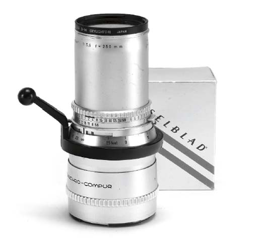 Sonnar f/5.6 250mm. no. 420738