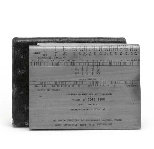 Actinograph exposure calculato