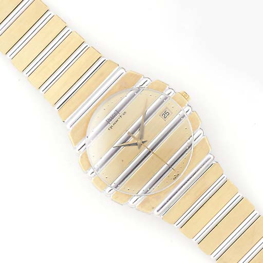 PIAGET, AN 18ct. YELLOW AND WH