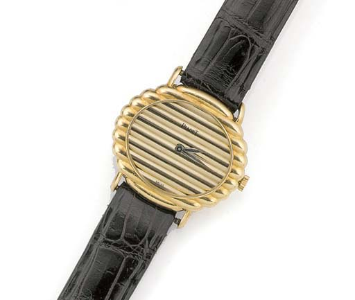 PIAGET, A LADY'S 18ct. GOLD WR