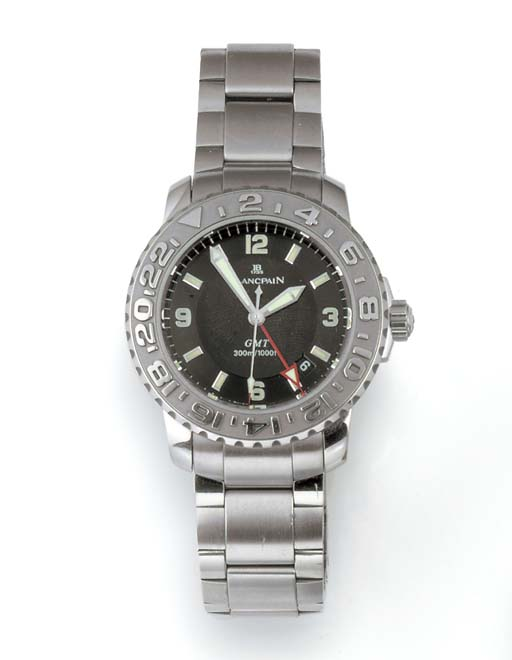 BLANCPAIN, A STAINLESS STEEL A