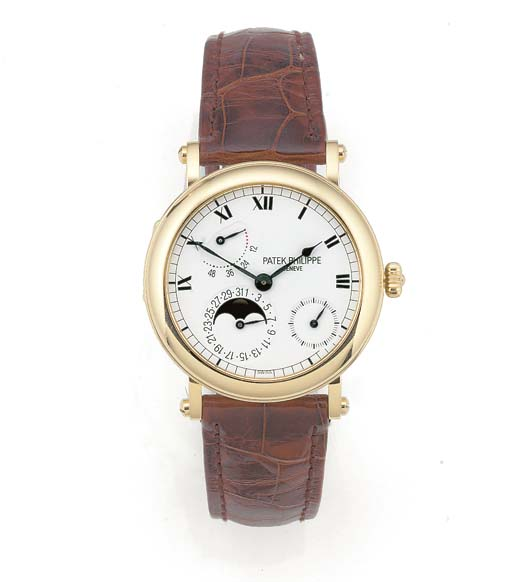PATEK PHILIPPE, AN 18ct. YELLO