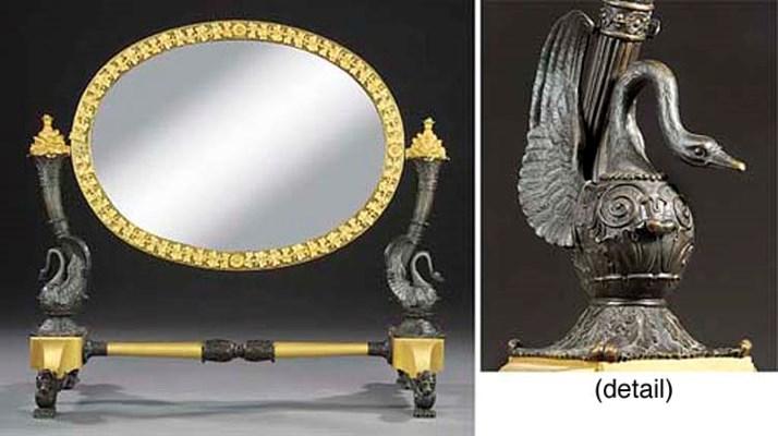 A Restauration bronze and ormo