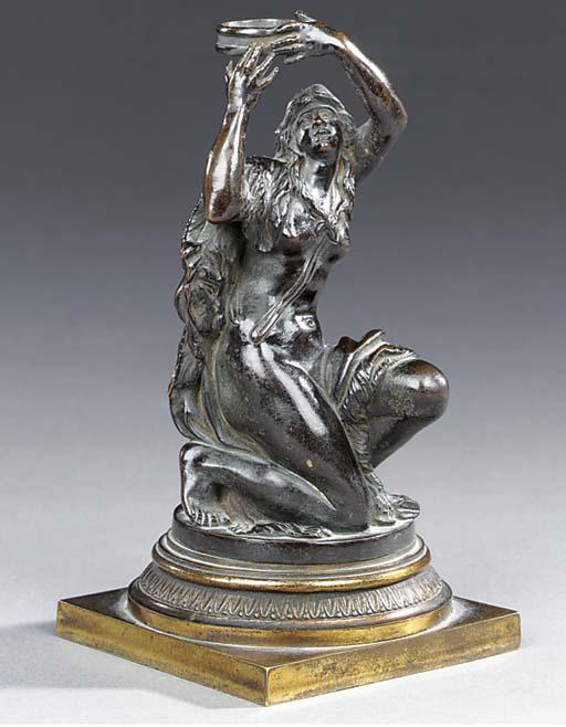 A Louis XVI bronze figure of a