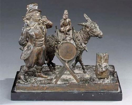 A Continental bronze group