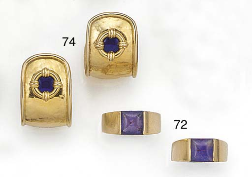 Two Cartier 18ct. gold, buff-t