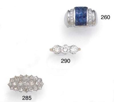 An old-brilliant-cut diamond o