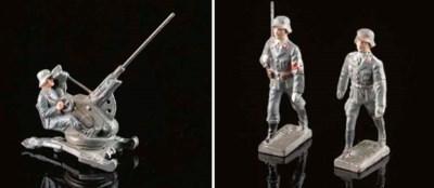 Lineol Luftwaffe Figures