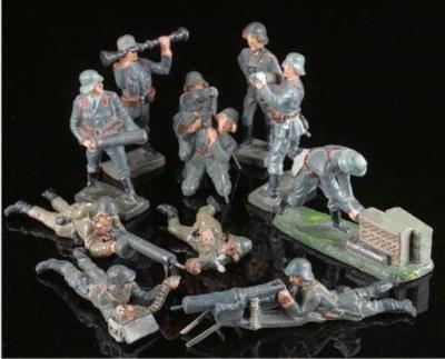 Lineol Luftwaffe Flak Artiller