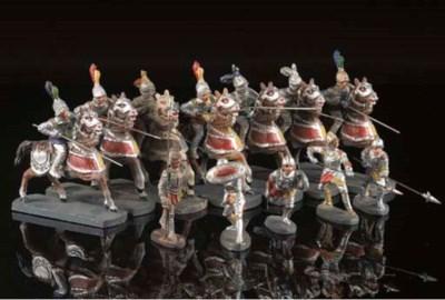 Elastolin Medieval Knights in