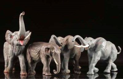 African and Indian Elephants