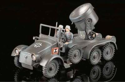 A Hausser clockwork 743 Lorry-
