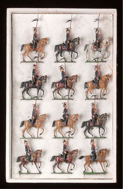 Heyde Set 69 Prussian Lancers