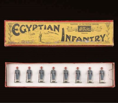A Britains set 117 Egyptian In